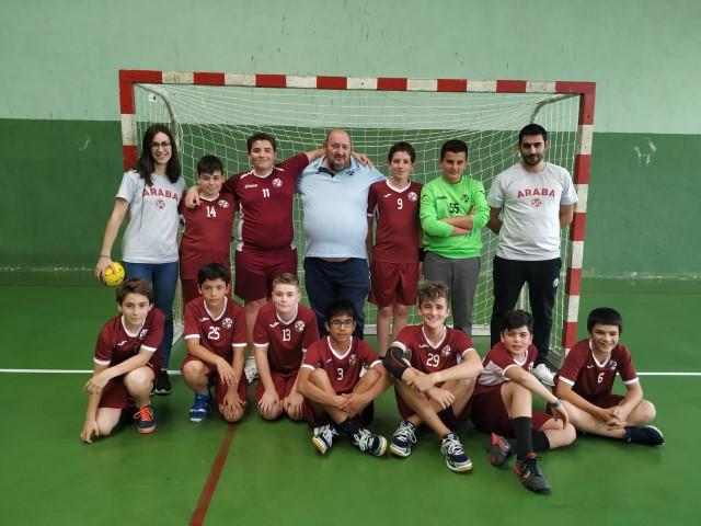 Selección infantil masculino 18-19